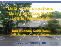 Data Transformations Using JCC LogMiner Loader MapResult t