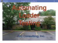 Automating the JCC LogMiner Loader Testing